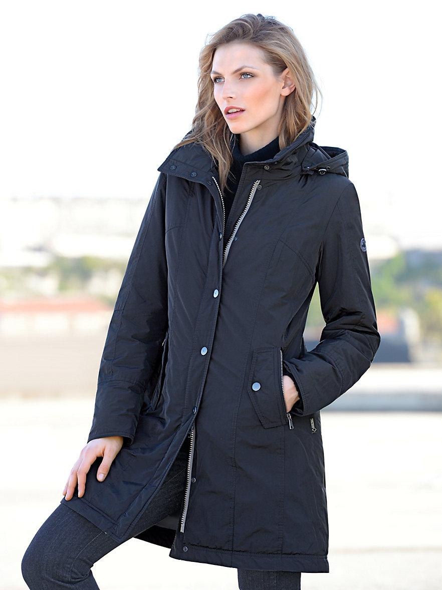 fuchs schmitt short coat navy. Black Bedroom Furniture Sets. Home Design Ideas