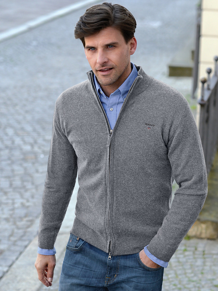 gant fashionable cardigan made from geelong lambswool. Black Bedroom Furniture Sets. Home Design Ideas