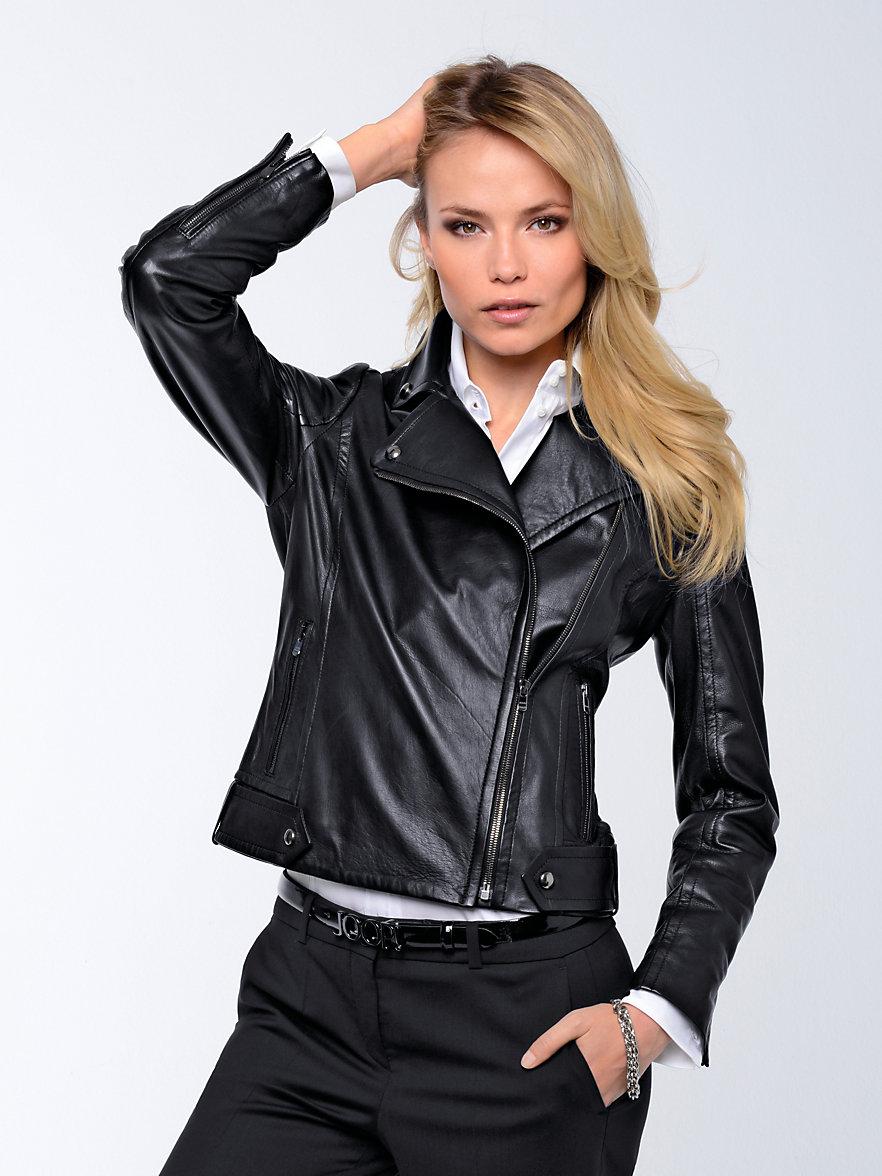 Joop leather jacket