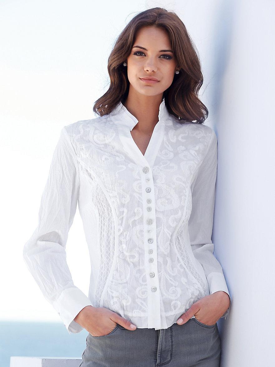just white blouse white. Black Bedroom Furniture Sets. Home Design Ideas