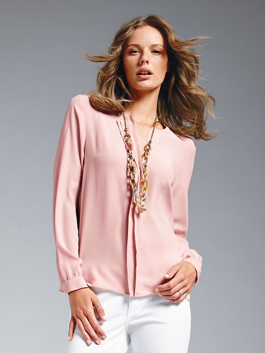 Womens Pale Pink Blouse 45