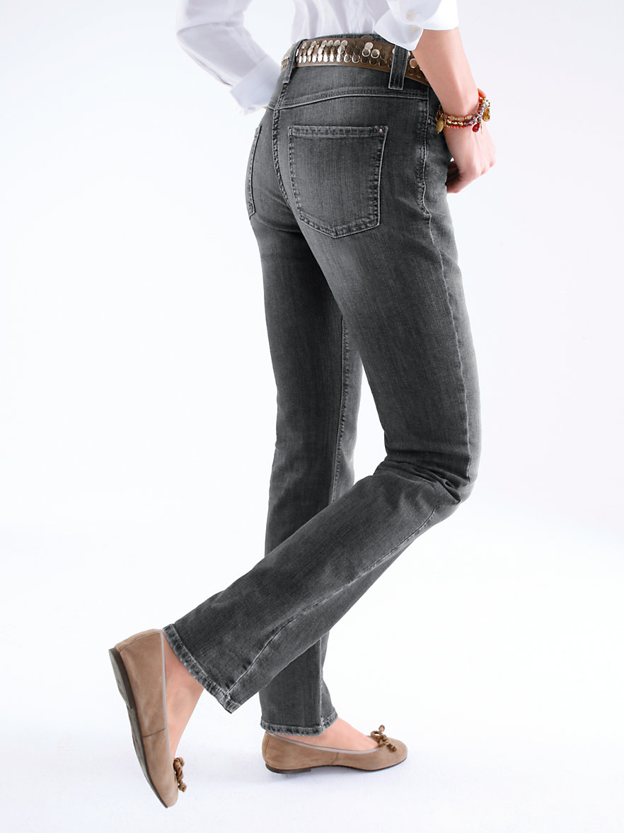 mac dream jeans feminine fit inch 30 anthracite denim. Black Bedroom Furniture Sets. Home Design Ideas