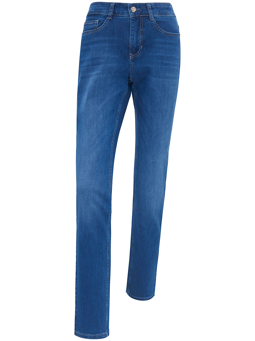 mac jeans angela inch length 30 mid blue denim. Black Bedroom Furniture Sets. Home Design Ideas
