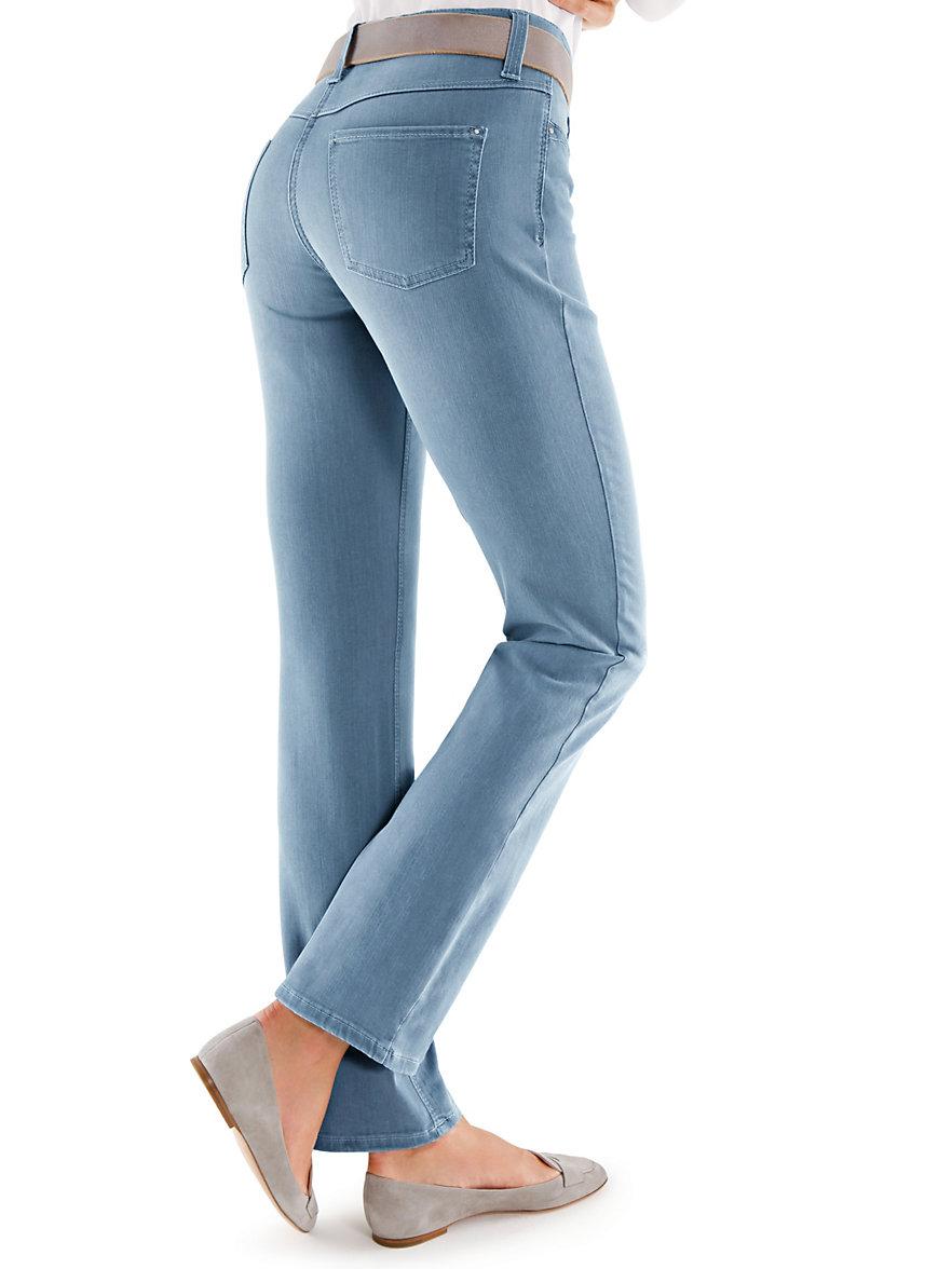 mac jeans bleached denim. Black Bedroom Furniture Sets. Home Design Ideas