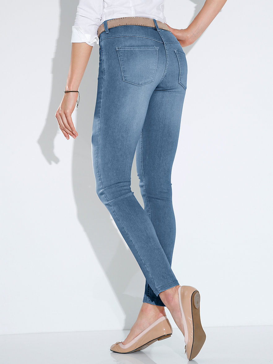 mac jeans dream skinny length 30ins summer bleached. Black Bedroom Furniture Sets. Home Design Ideas