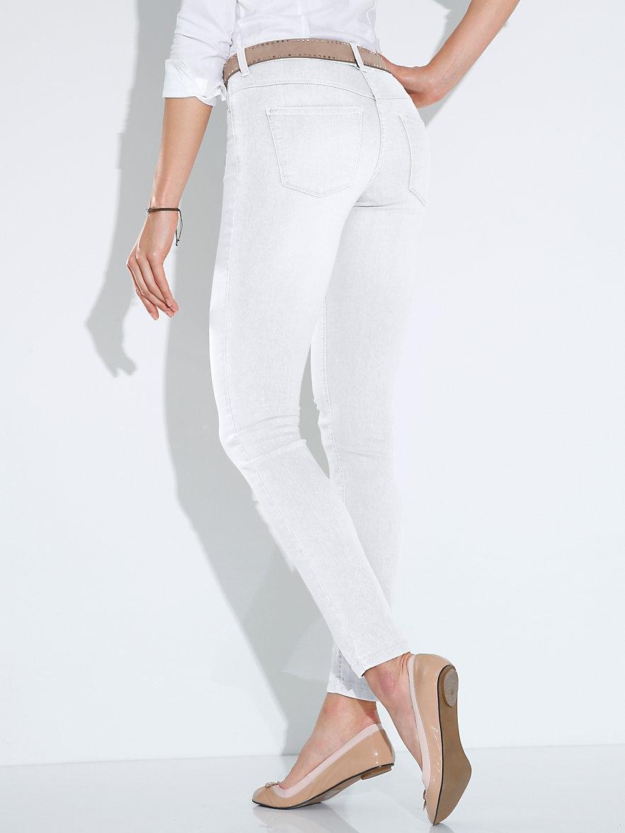 mac jeans dream skinny length 30ins white denim. Black Bedroom Furniture Sets. Home Design Ideas
