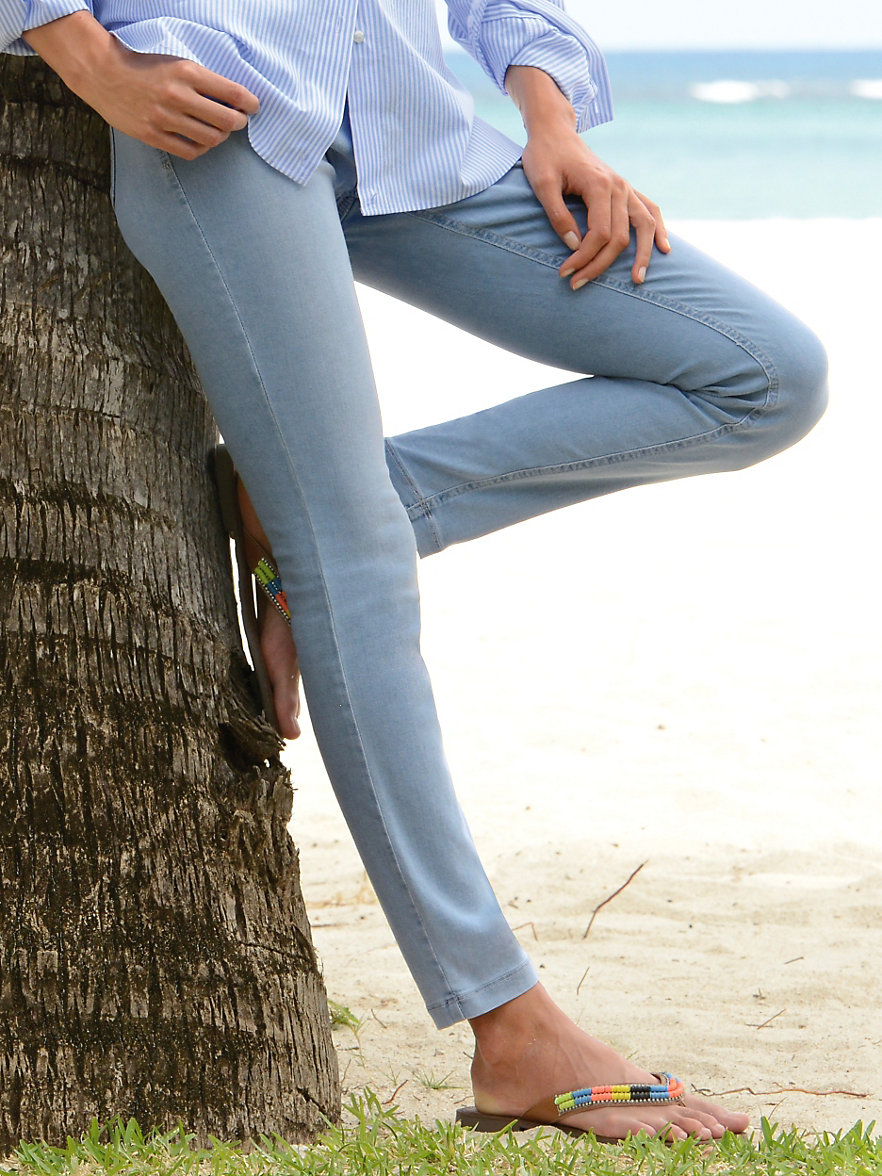 mac jeans dream skinny summer bleached. Black Bedroom Furniture Sets. Home Design Ideas