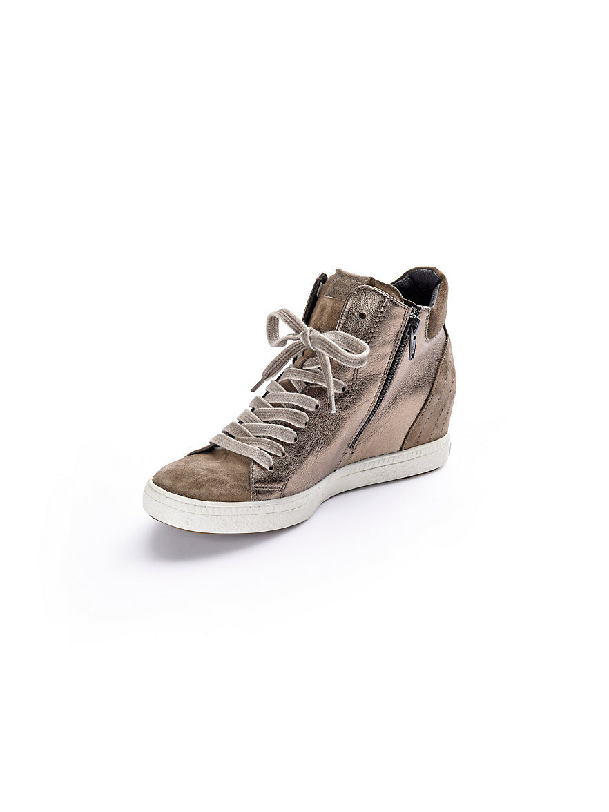 paul green sneaker taupe bronze metallic. Black Bedroom Furniture Sets. Home Design Ideas