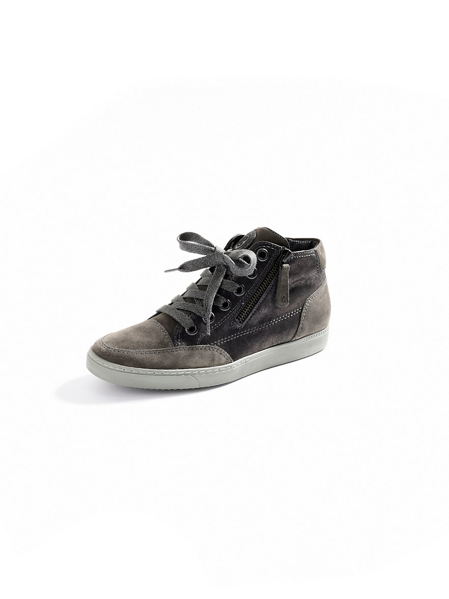 paul green sneakers grey metallic. Black Bedroom Furniture Sets. Home Design Ideas