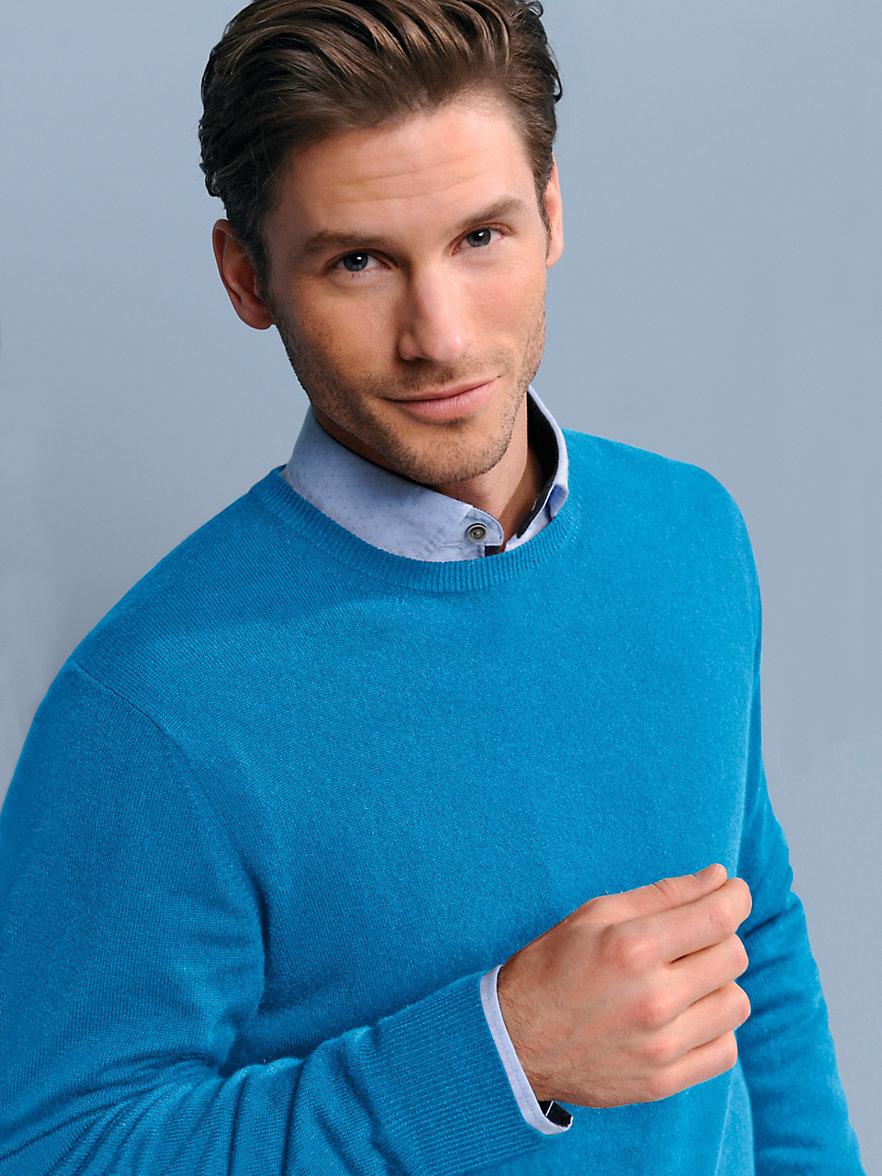 peter hahn jumper in 100 cashmere turquoise. Black Bedroom Furniture Sets. Home Design Ideas