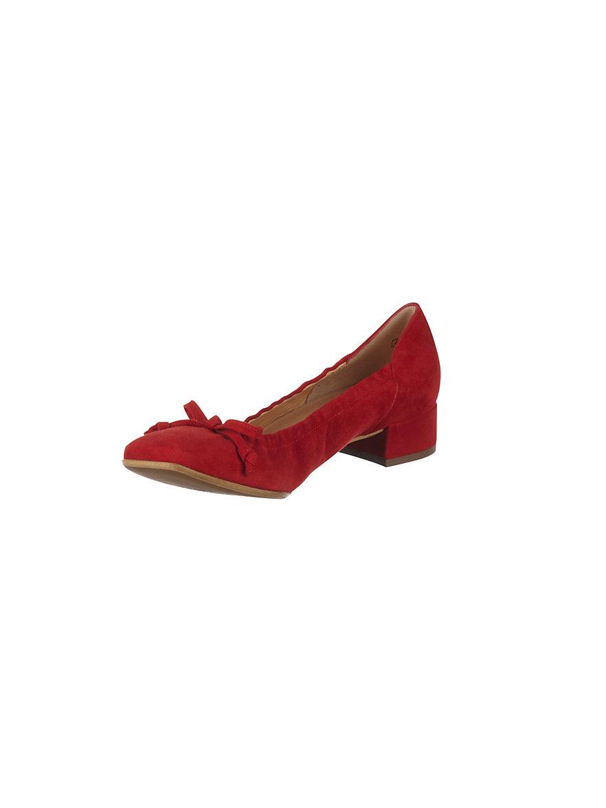 peter kaiser ballerina pumps red. Black Bedroom Furniture Sets. Home Design Ideas