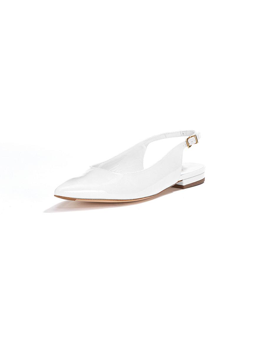 peter kaiser ballerina pumps white. Black Bedroom Furniture Sets. Home Design Ideas