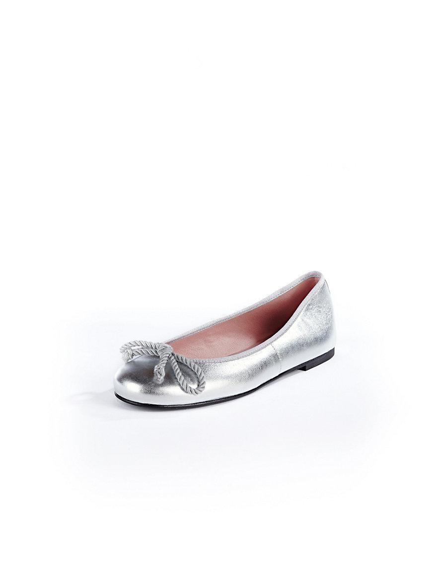 pretty ballerinas ballerina pumps silver. Black Bedroom Furniture Sets. Home Design Ideas