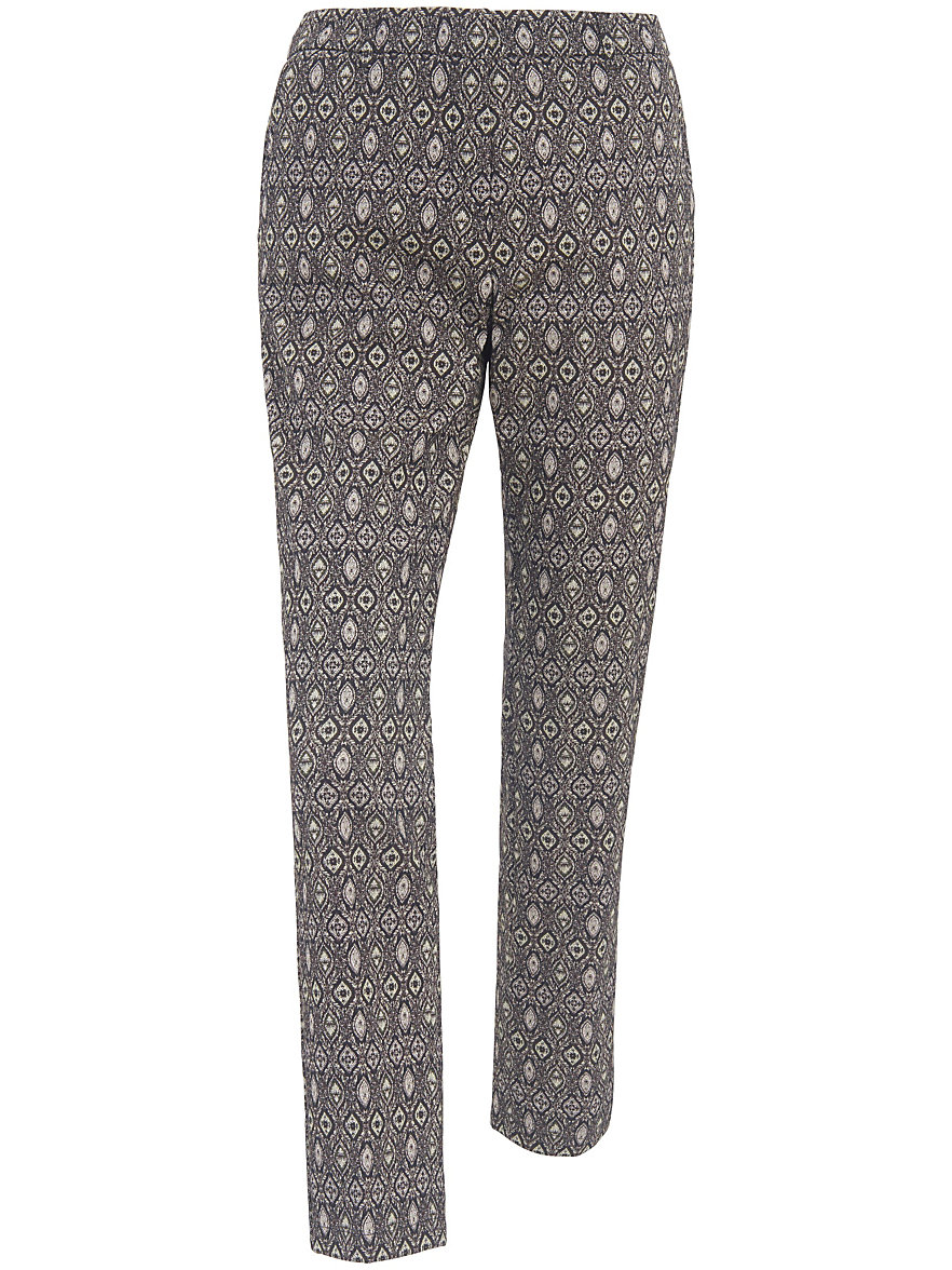 raffaello rossi ankle length trousers minty new olive multicoloured. Black Bedroom Furniture Sets. Home Design Ideas