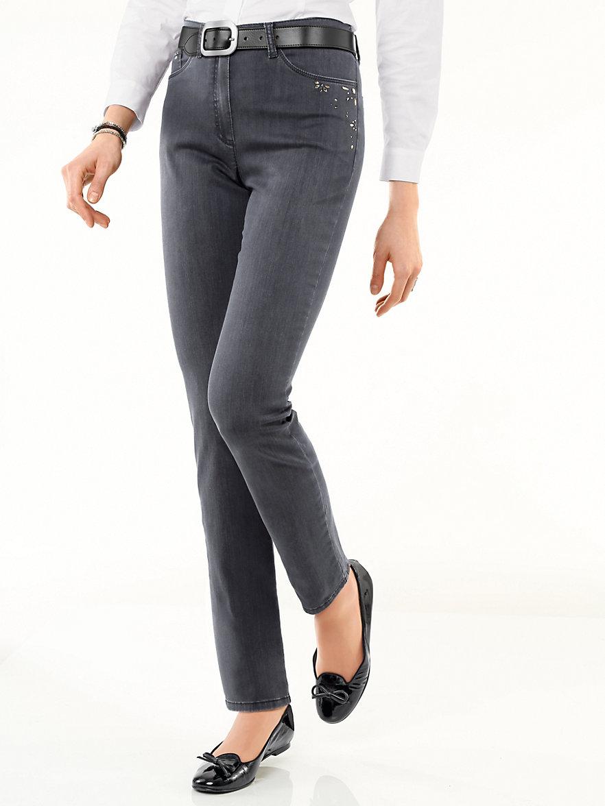 raphaela by brax jeans anthracite denim. Black Bedroom Furniture Sets. Home Design Ideas