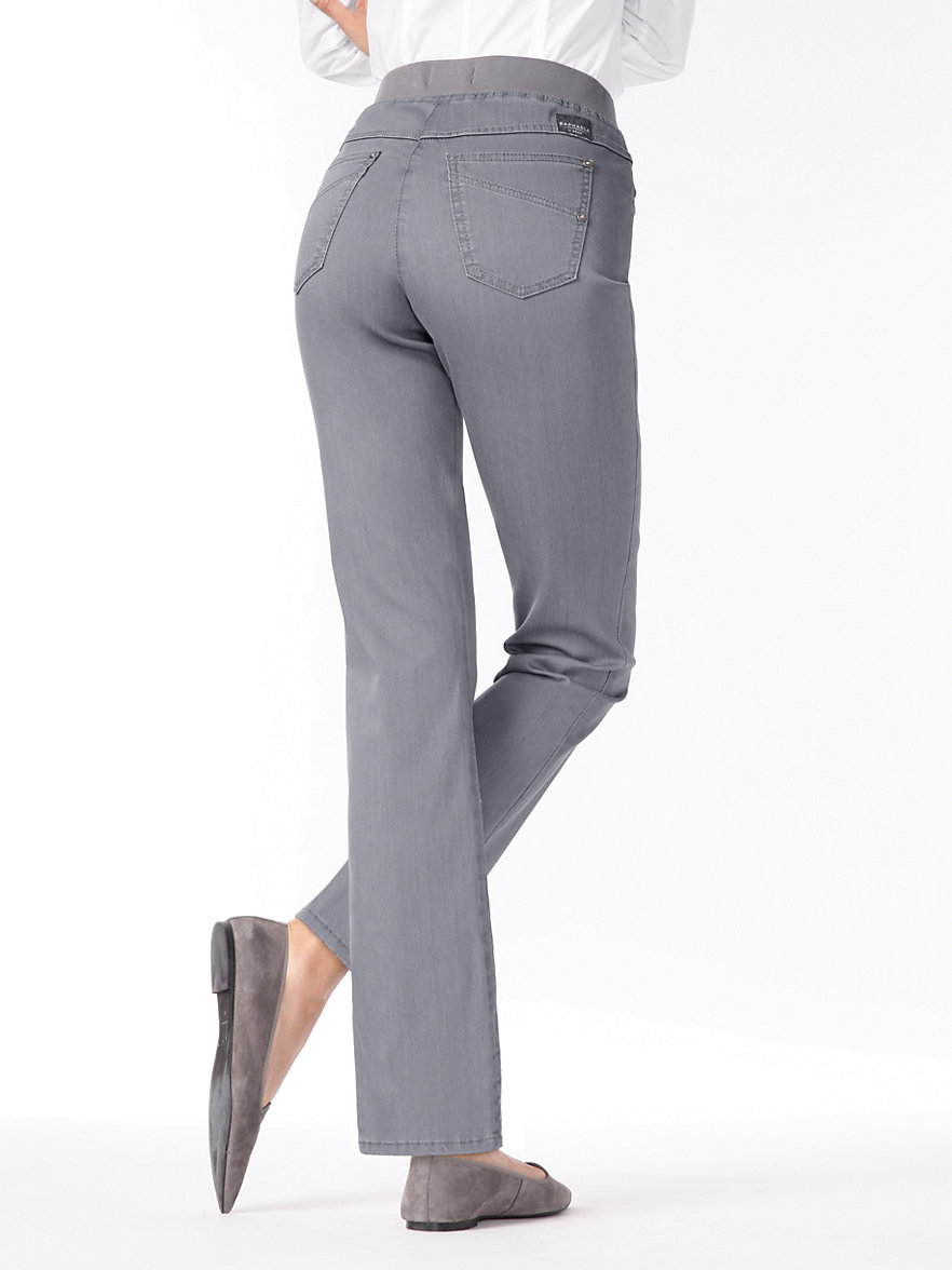 raphaela by brax jeans grey. Black Bedroom Furniture Sets. Home Design Ideas