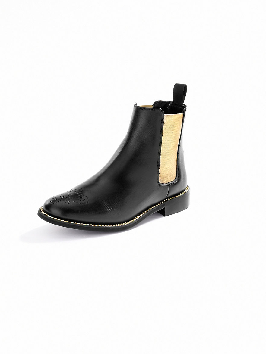 buy online 94075 1c54e Chelsea Boots, Black | Shipped Free at Zappos : High heel ...