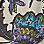 sand/lilac/multicoloured