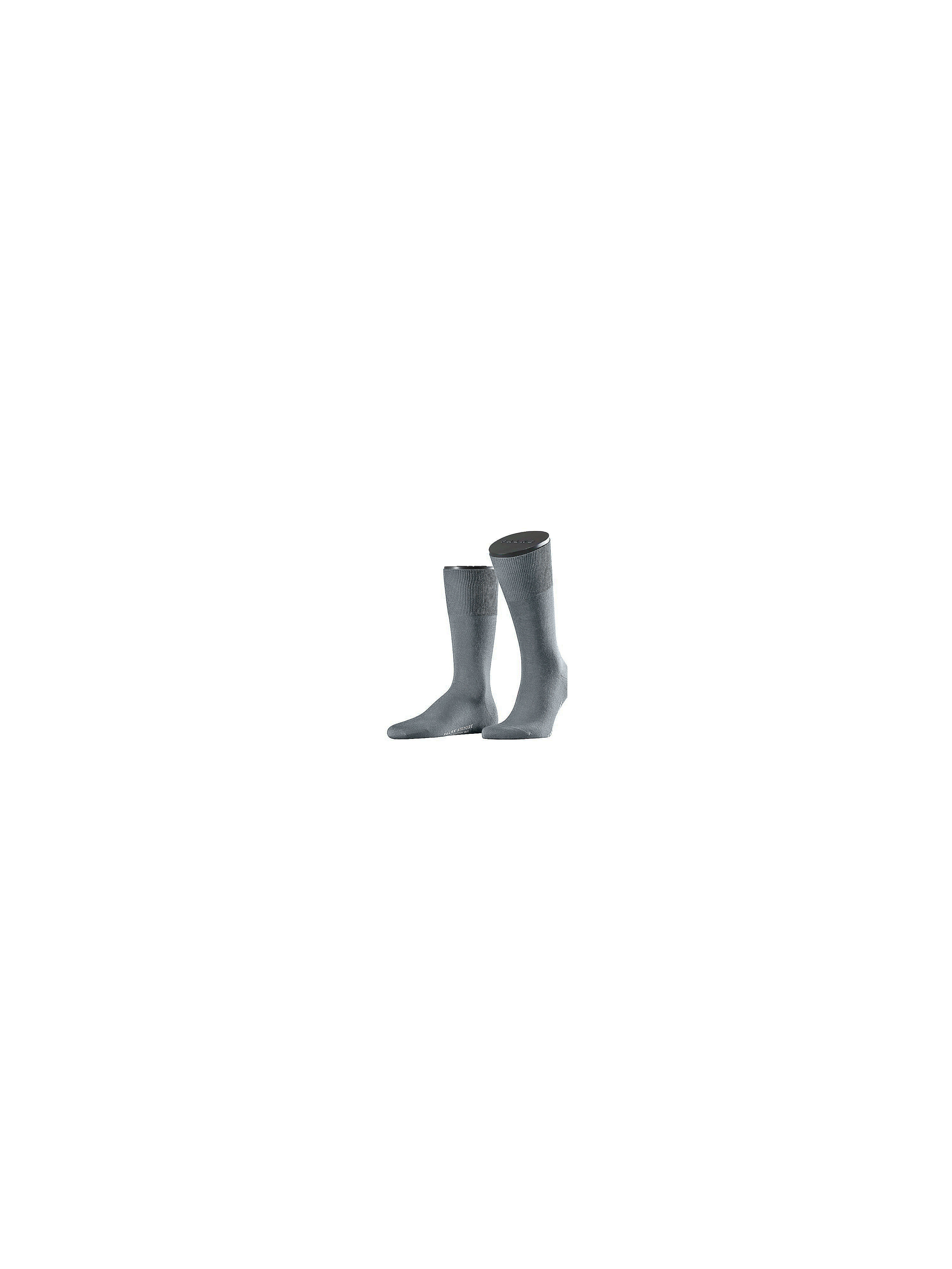 """Airport"" socks from Falke grey"