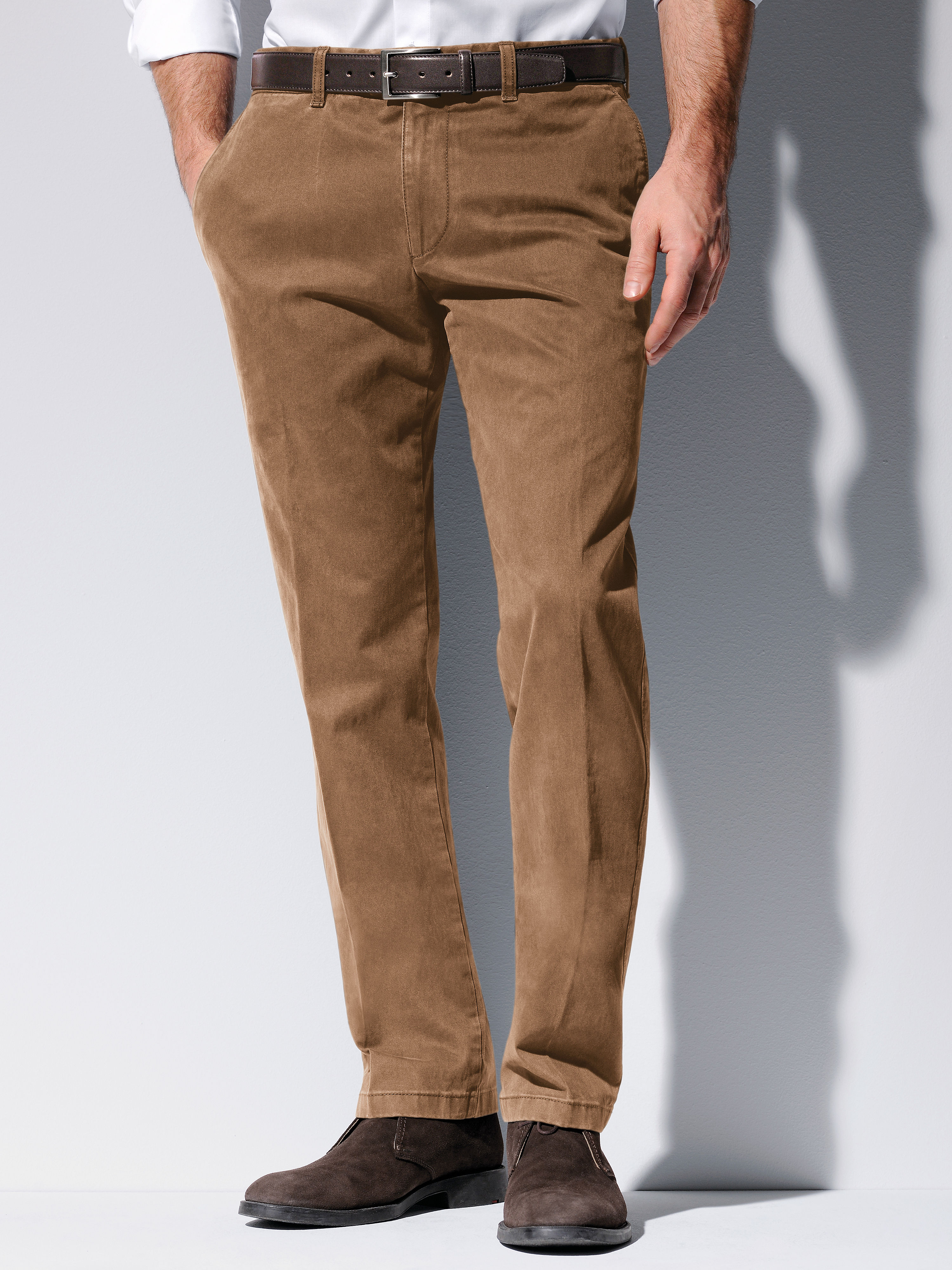 Trousers from Brax Feel Good brown