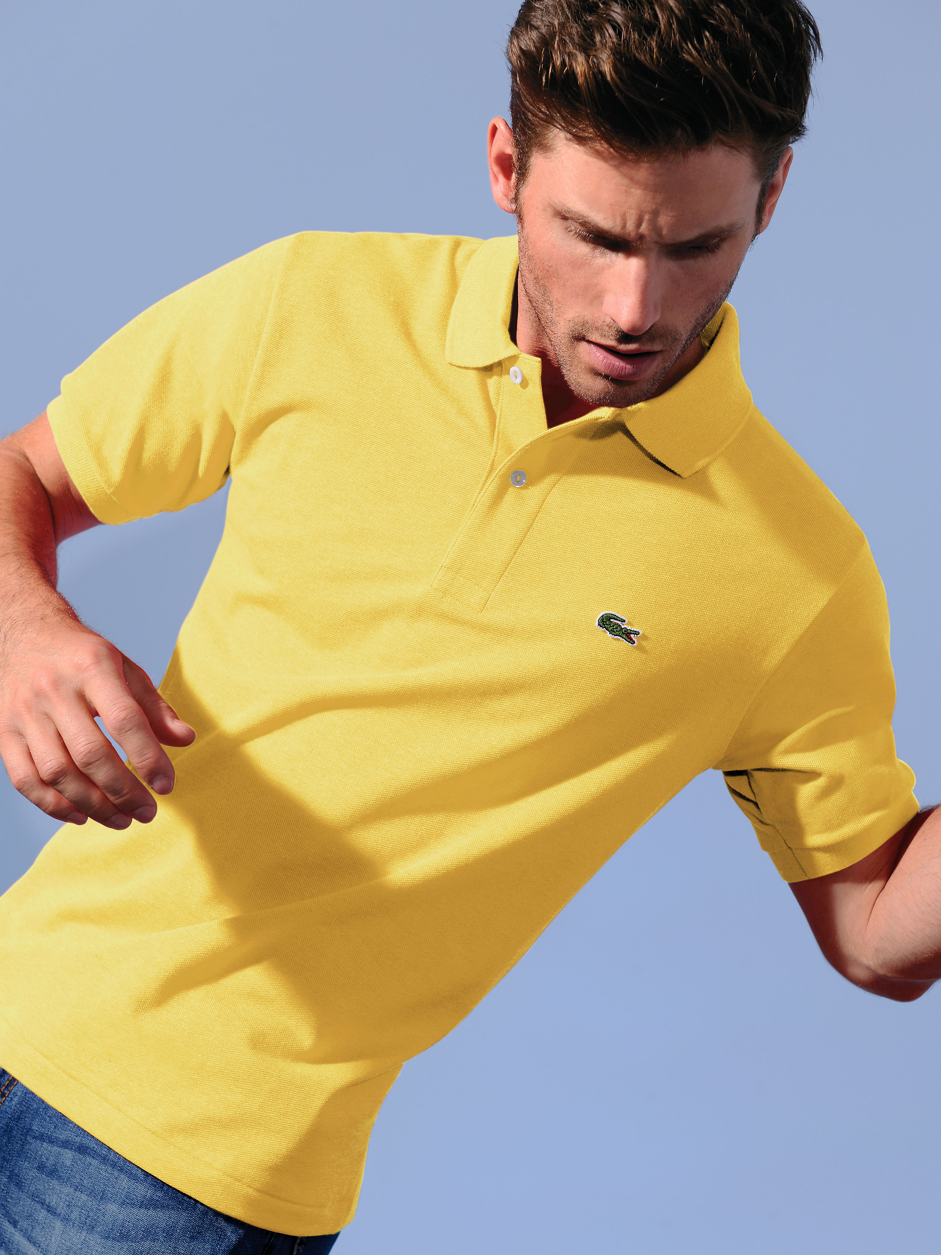 Polo shirt from Lacoste yellow