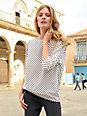 Laurèl - Blouse with 3/4-length sleeves