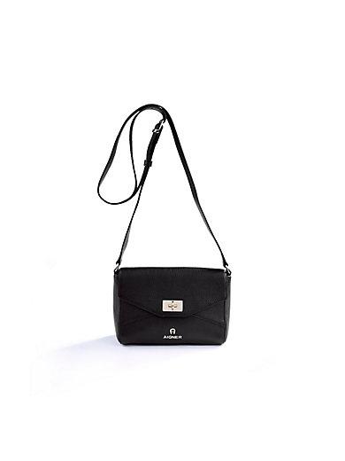 Aigner - Soft, fine-grained cowskin leather shoulder bag