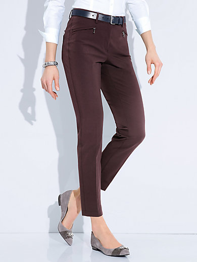 Atelier Gardeur - Ankle-length trousers – design DINA 2 Slim