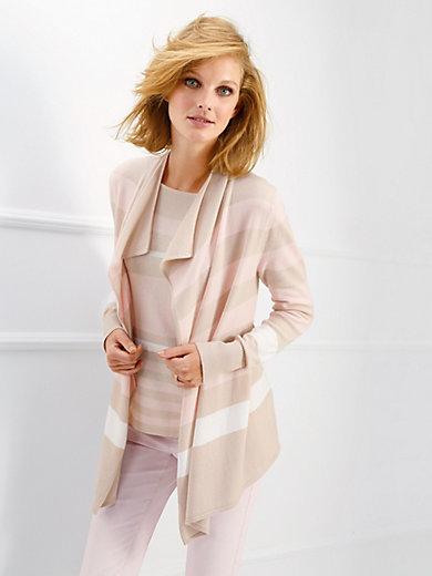Basler - Cardigan in 100% new milled wool