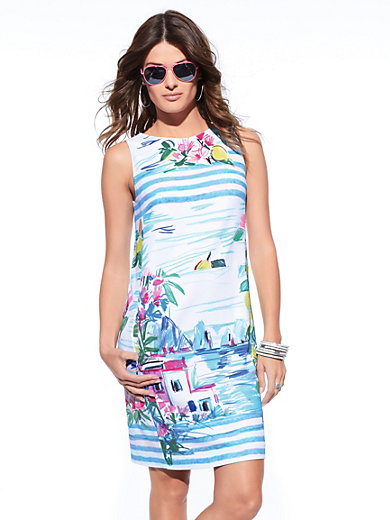 Bogner - Jersey dress with exclusive capri print