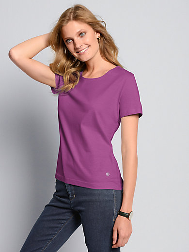 "Bogner - Round neck top with short sleeves - design ""ANNI"""