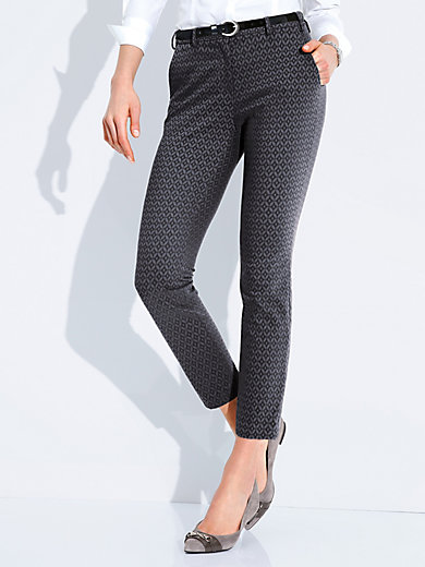 Brax Feel Good - Ankle-length trousers - design MARON