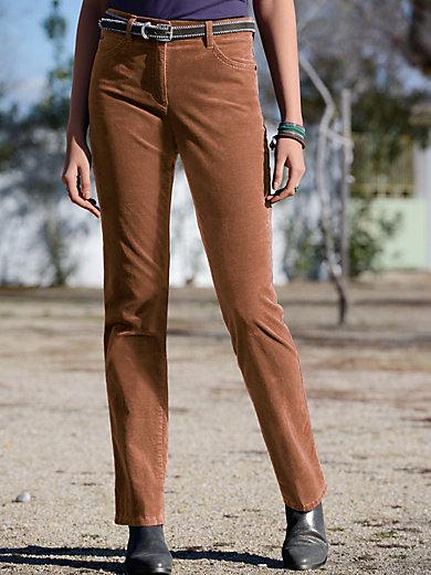 """Brax Feel Good - """"Feminine Fit"""" velveteen trousers - Design CAROLA"""