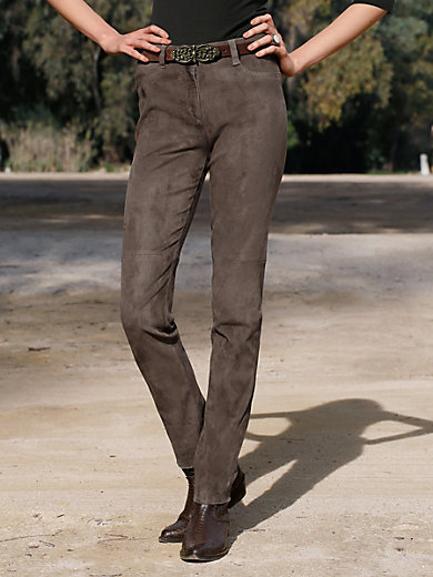 Brax Feel Good - Leather trousers