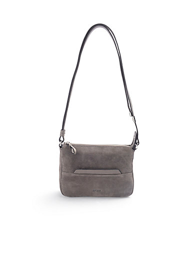 "Bree - ""Faro 1"" bag in suede with nappa leather details"