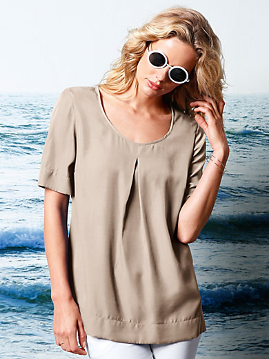 DAY.LIKE - Blouse top with short sleeves