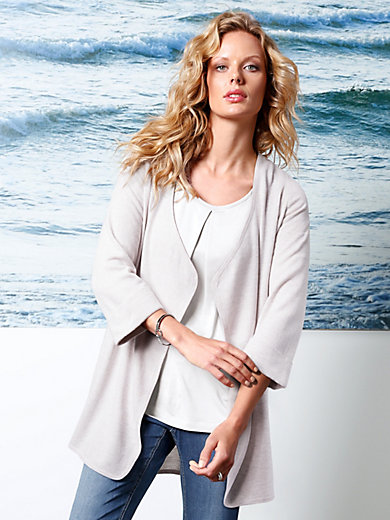 DAY.LIKE - Long cardigan with 3/4-length sleeves