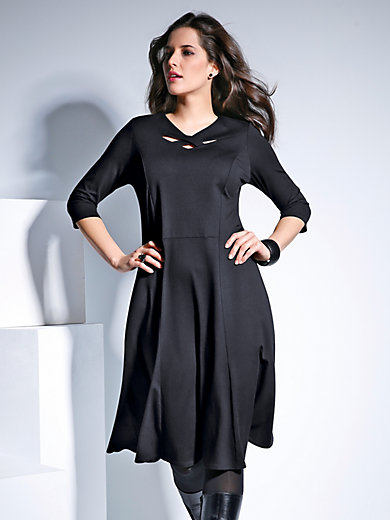 Doris Streich - Jersey dress with 3/4-length sleeves