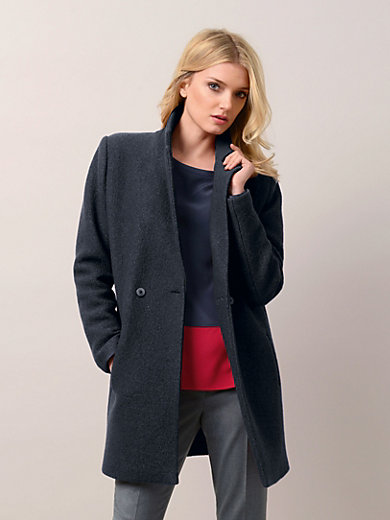 Fadenmeister Berlin - Coat in 100% new milled wool