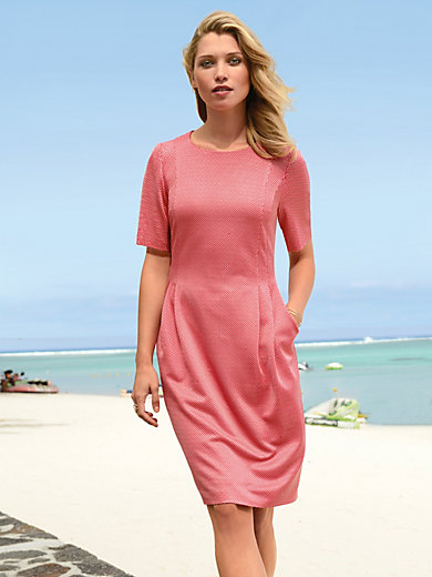 Fadenmeister Berlin - Jersey dress with short sleeves