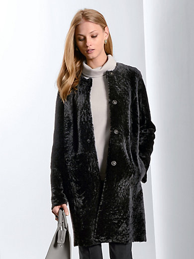 Fadenmeister Berlin - Reversible leather coat