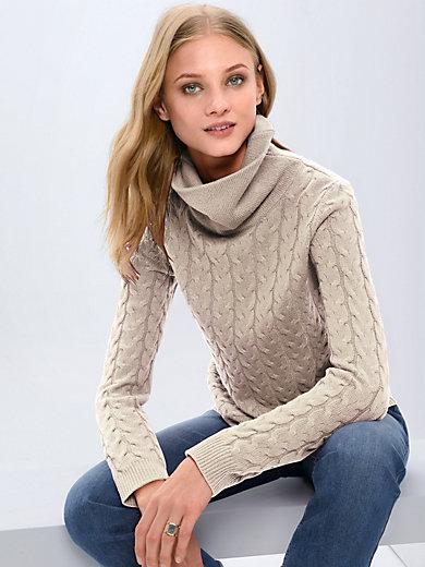 Fadenmeister Berlin - Roll-neck jumper in 100% cashmere