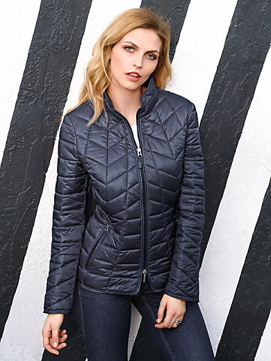 Gerry Weber - Quilted jacket with a raised collar
