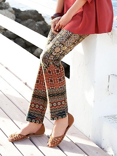 Green Cotton - Pull-on trousers