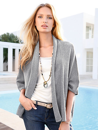 include - Poncho in 100% cashmere
