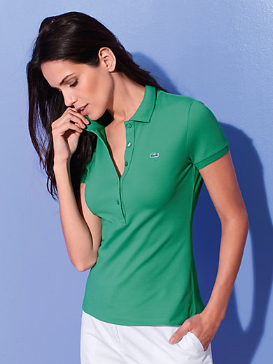 Lacoste - Polo shirt with cap sleeves