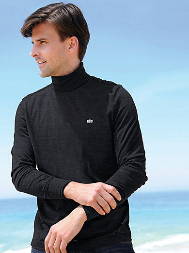 Lacoste - Versatile long-sleeved roll neck top