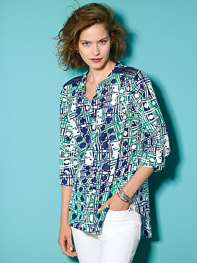 Looxent - Blouse in tunic style shape