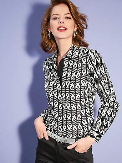 Looxent - Blouse with a cool graphic print design