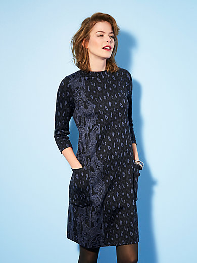 Looxent - Jersey dress in a straight cut with pockets
